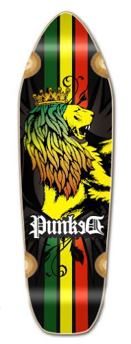 Blank & Graphic Longboard Deck MINI CRUISER - BANANA CRUISER 27