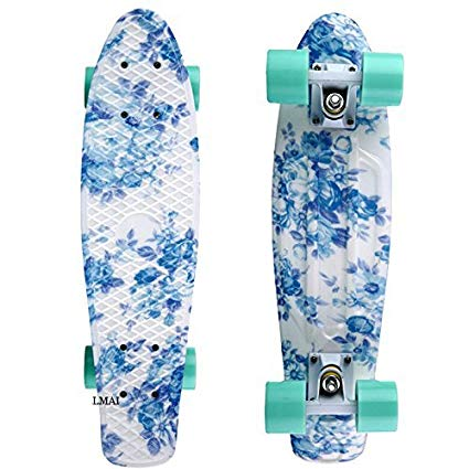 LMAI 22'' Cruiser Skateboard Graphic Mini Complete Skateboard