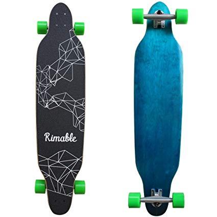 Rimable 42 Inch Freestyle Topmount Longboard