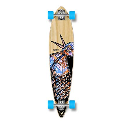 Yocaher The Bird Series: Natural Longboard Complete Skateboard - available in All shapes